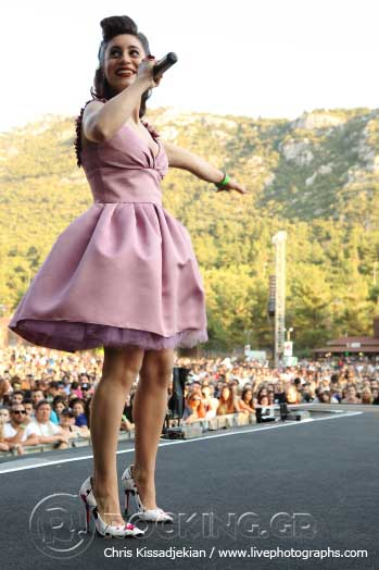 Ex-Girlfriend's Perfume @ Rockwave Festival, Athens, Greece, 20/06/15