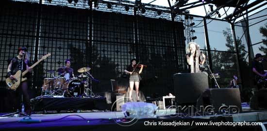 Kovacs @ Rockwave Festival, Athens, Greece, 20/06/15