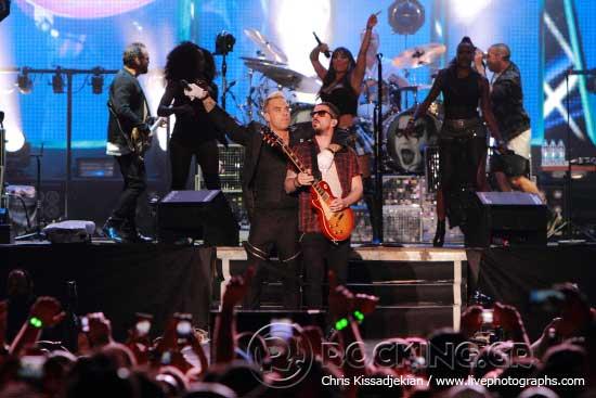 Robbie Williams @ Rockwave Festival, Athens, Greece, 20/06/15