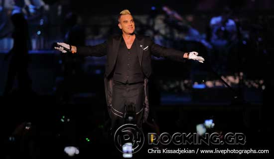 Robbie Williams @ Rockwave Festival, Athens, Greece, 20/06/15