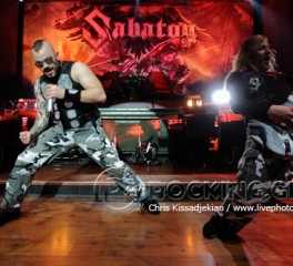 Sabaton, Delain, Battle Beast @ Fuzz Club, 30/01/15