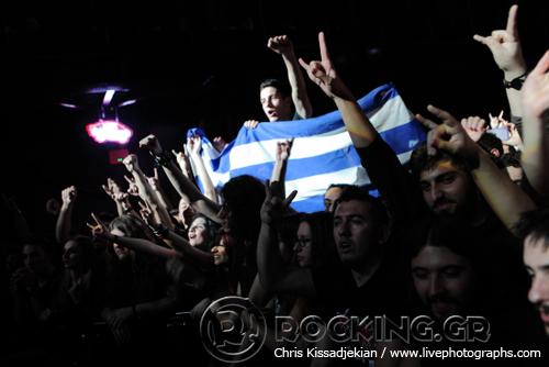 Sabaton, Athens, Greece, 30/01/15