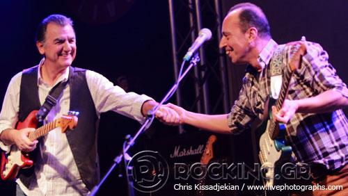 Γιάννης Σπάθας, Άκης Τουρκογιώργης & The Blue Airways, Athens, Greece, 06/02/15
