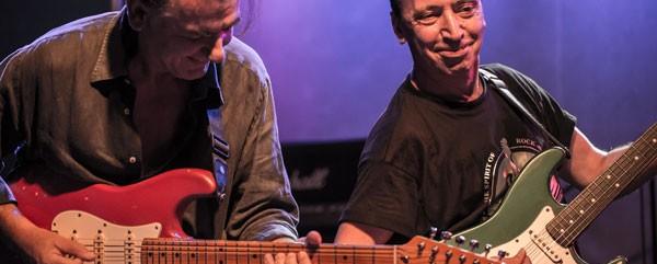 Γιάννης Σπάθας & Άκης Τουρκογιώργης & The Blue Airways, Blues Wire @ Κύτταρο, 09/10/15