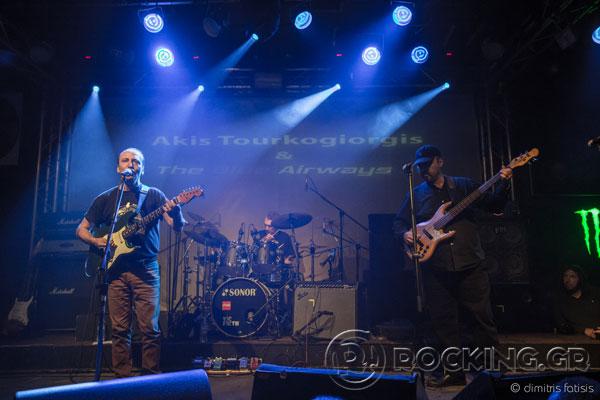 Γιάννης Σπάθας & Άκης Τουρκογιώργης & The Blue Airways, Athens, Greece, 09/10/15