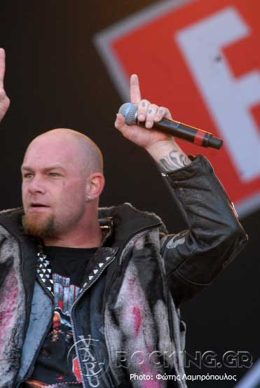 Five Finger Death Punch @ Sweden Rock Festival (Solvesborg, Sweden), 06/06/15