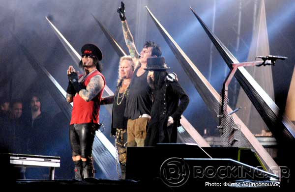 Motley Crue @ Sweden Rock Festival (Solvesborg, Sweden), 05/06/15