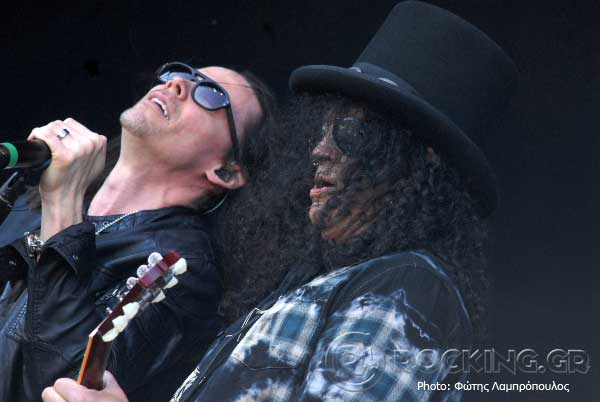 Slash Featuring Myles Kennedy And The Conspirators @ Sweden Rock Festival (Solvesborg, Sweden), 04/06/15