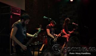 Void Droid, Black Hat Bones, Stonebringer, Tres Hombres @ Metropolis Live (Πάτρα), 16/05/15