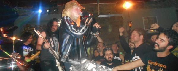Warrel Dane, Nuclear Terror @ Metal Union Club (Αγρίνιο), 07/11/15