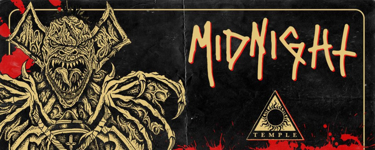 Midnight, Violent Definition, Boneyard @ Temple, 22/08/19