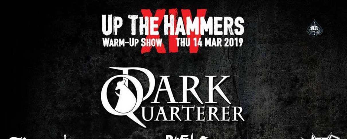 Up The Hammers Warm Up Show: Dark Quarterer, Reflection, Raven Black Night κ.ά. @ An Club, 14/03/19
