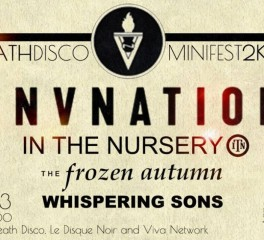 DeathDisco Minifest 2K19 (VNV Nation, In The Nursery, The Frozen Autumn, Whispering Sons) @ Fuzz Club, 23/02/19
