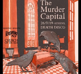 The Murder Capital, Screaming Fly, Church Of The Sea @ Death Disco, 26/09/19