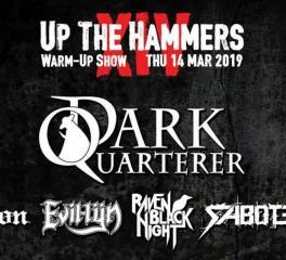 Up The Hammers Warm Up Show: Dark Quarterer, Reflection, Raven Black Night κ.ά. @ An Club, 14/03/19