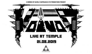 Voivod, Sacral Rage, Stereo Animal @ Temple, 21/08/19