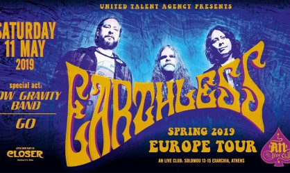 Earthless, Low Gravity Band, GO @ An Club, 11/05/19