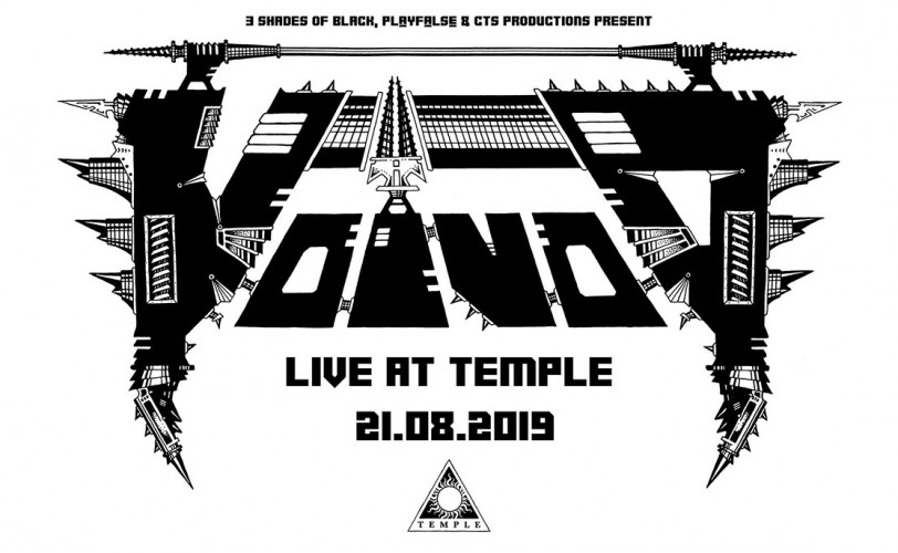 Voivod, Sacral Rage, Stereo Animal @ Temple, 21/08/19