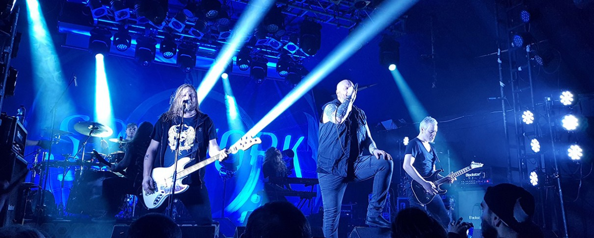 Amorphis, Soilwork, Nailed To Obscurity @ Electric Ballroom, Λονδίνο, 04/02/19