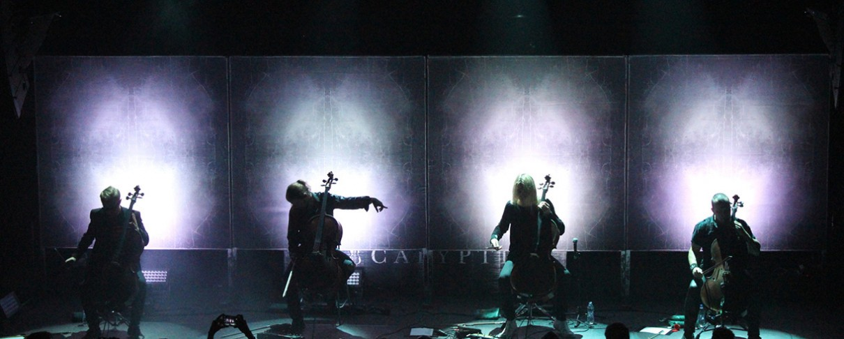 Apocalyptica @ Fix Factory Of Sound, 01/11/19