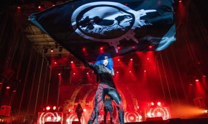 Barcelona Rock Fest - Day 3 (Arch Enemy, Saxon, Krokus, Hammerfall, Cradle Of Filth, Combichrist κ.ά) @ Parc De Can Zam, Βαρκελώνη, 06/07/19