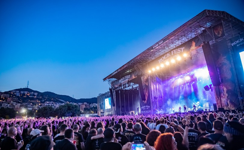 Barcelona Rock Fest - Day 4 (Def Leppard, Europe, Dee Snider, Dream Theater, Testament, Therion κ.ά) @ Parc De Can Zam, Βαρκελώνη, 07/07/19