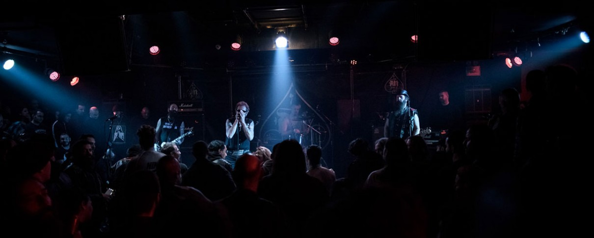 Anti-Nowhere League, Stress, AntiNörmals @ An Club, 25/01/20