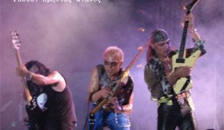Scorpions live σε Αθήνα και Θεσσαλονίκη
