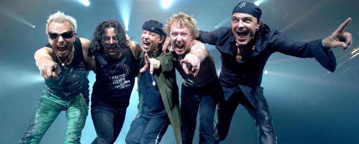 Οι Scorpions έρχονται στην Πλατεία Νερού