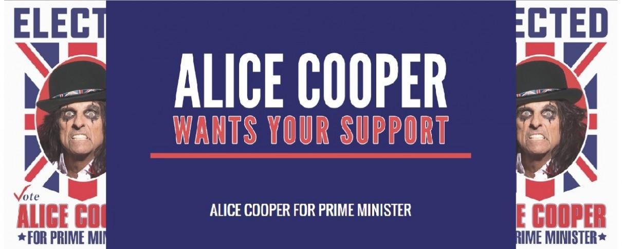 Θα είναι ο Alice Cooper ο νέος Βρετανός Πρωθυπουργός;