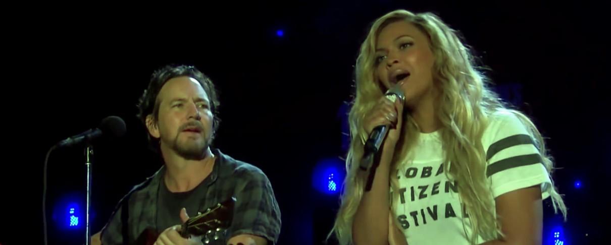 Pearl Jam και Beyonce διασκευάζουν Bob Marley