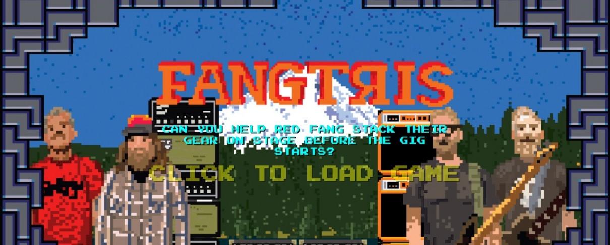 """""""Fang-tris"""": Παίξε το νέο βιντεοπαιχνίδι από τους Red Fang και άκου τον δίσκο που μόλις κυκλοφόρησε"""