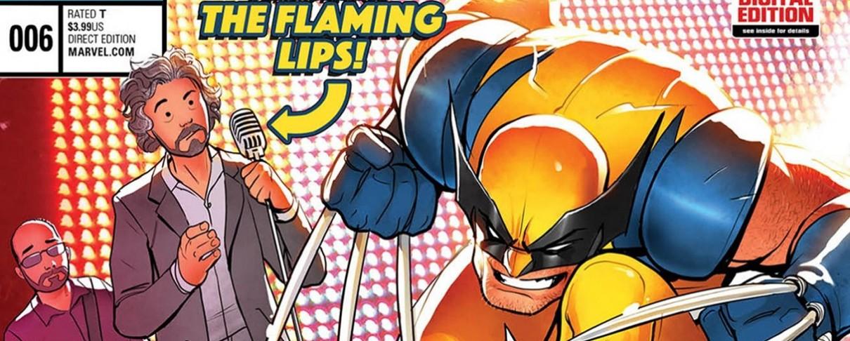 Οι Flaming Lips σε κόμικ της Marvel