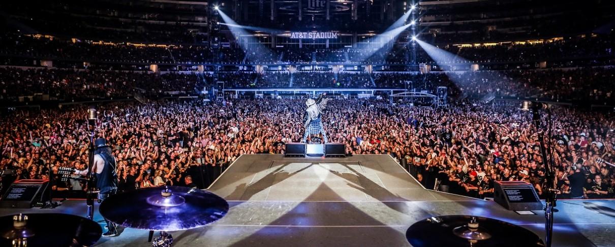 "Guns N' Roses: Χωρίς στάση στην Ελλάδα το ευρωπαϊκό σκέλος της ""Not In This Lifetime Tour"";"