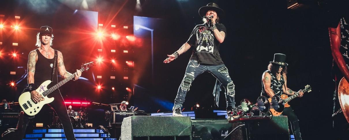 Guns N' Roses: Νέες προσθήκες συναυλιών στην ατζέντα τους (video)