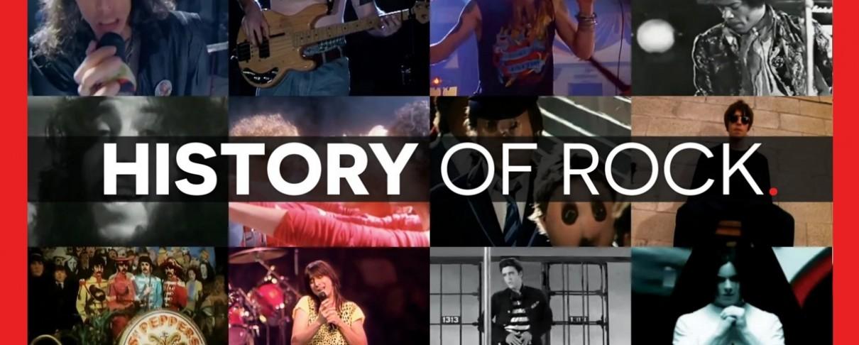 Η ιστορία της rock σε 15 λεπτά!
