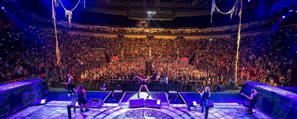 Σε παγκόσμια ζωντανή μετάδοση η συναυλία των Iron Maiden στο Wacken