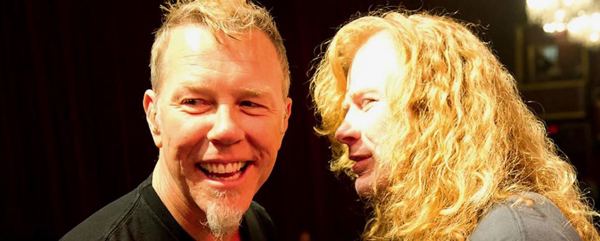 Mustaine: «Δεν απολύθηκε ο Loureiro, θέλω ξανά μαζί τους Big Four»