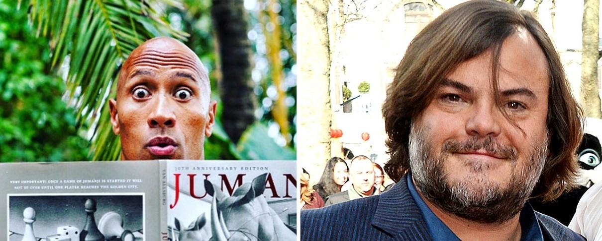 """Ο Jack Black σε ρόλο-έκπληξη στο νέο """"Jumanji"""""""