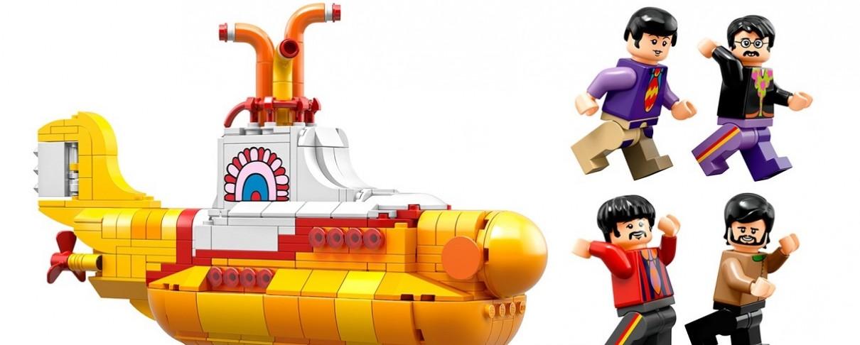 """To """"Yellow Submarine"""" των Beatles γίνεται …Lego"""