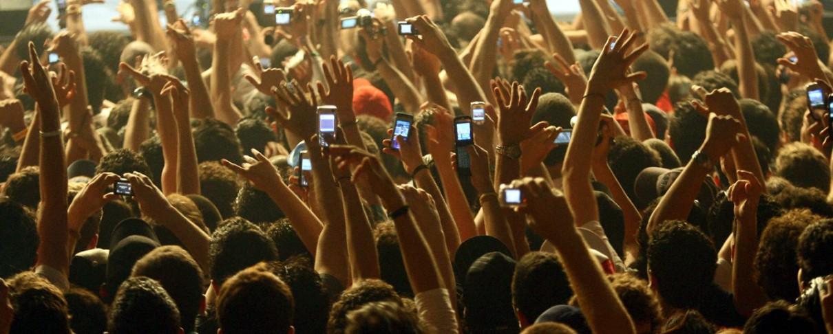 Νέα λύση (;) για τα κινητά στις συναυλίες