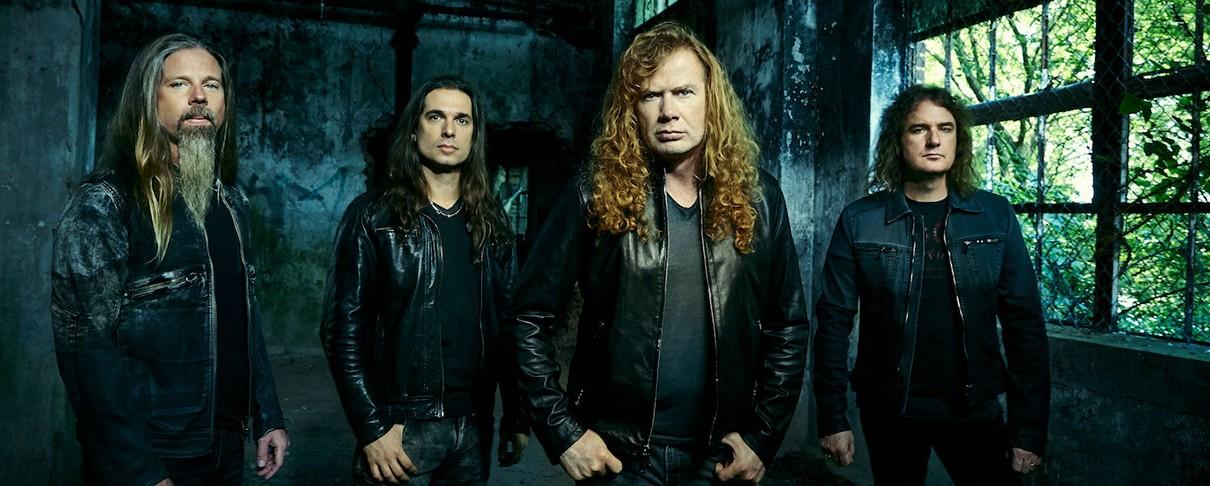Οι Megadeth έρχονται στην Αθήνα!