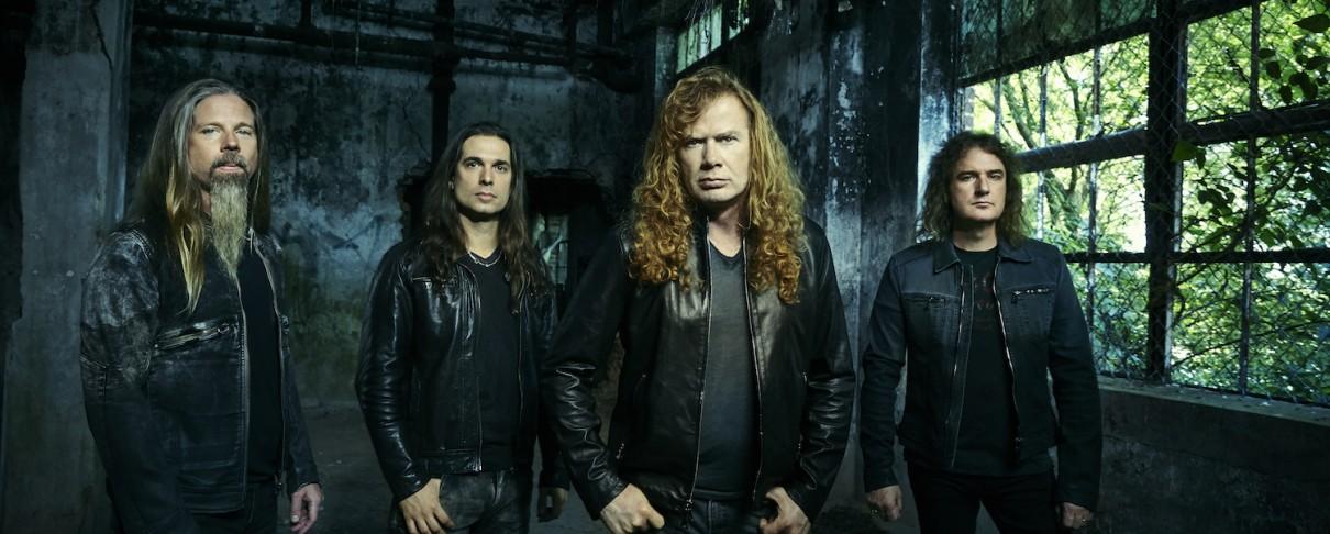 """Οι Megadeth παίζουν για πρώτη φορά ζωντανά το """"Dystopia"""" (video)"""