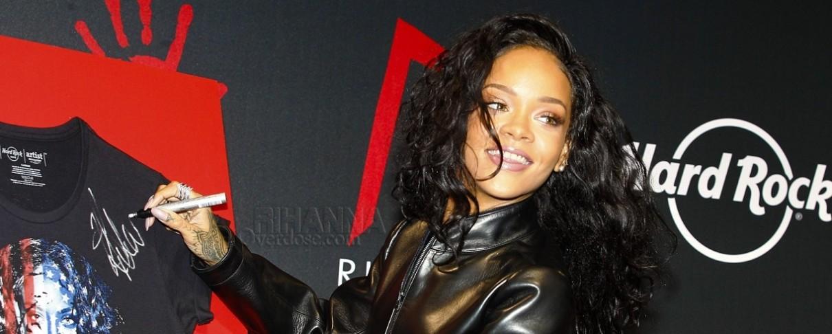 Η Rihanna χρησιμοποιεί logo των Sepultura