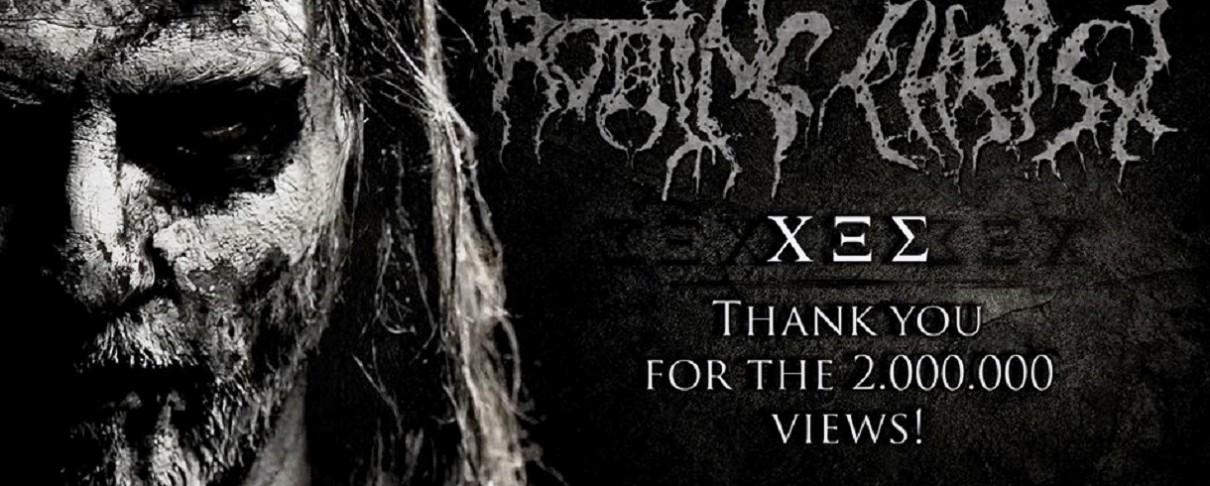 """Το """" Χ Ξ Σ"""" των Rotting Christ ξεπέρασε τα 2 εκ. views στο YouTube"""