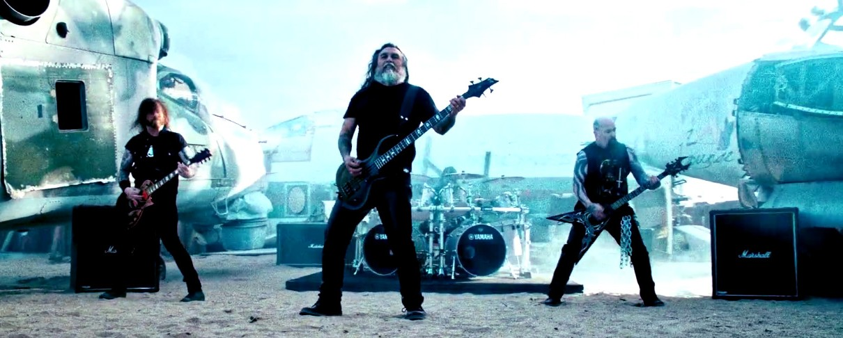 Υπερβίαιο και το νέο video των Slayer