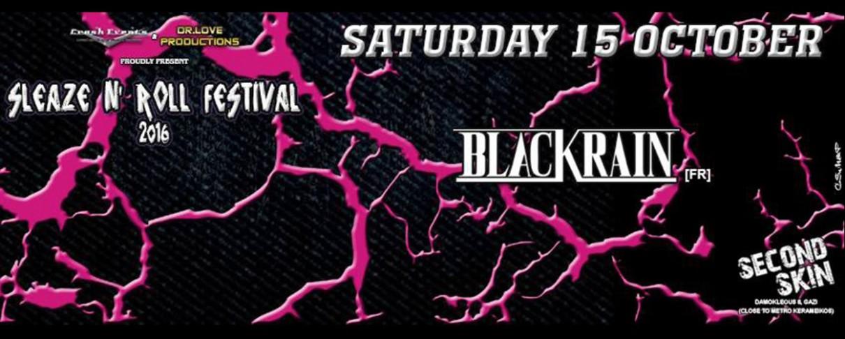 Το πρώτο Sleaze N' Roll Festival έρχεται τον Οκτώβριο στο Second Skin