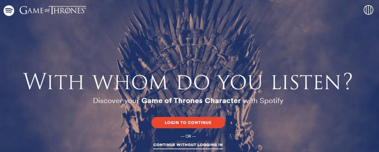Spotify: Με ποιον χαρακτήρα του Game Of Thrones έχετε τα ίδια μουσικά γούστα;