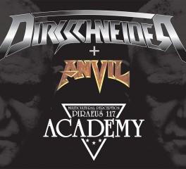 Αλλαγή χώρου για την συναυλία των Dirkschneider και Anvil στην Αθήνα