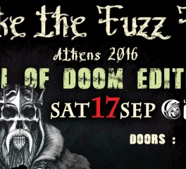 Το πρόγραμμα του Smoke The Fuzz Fest - Fall Of Doom Edition